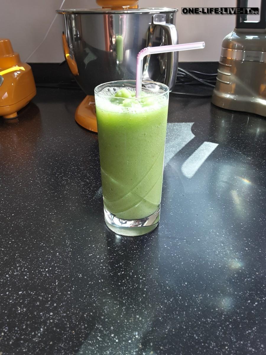 Green Velvet – groene smoothie met gember